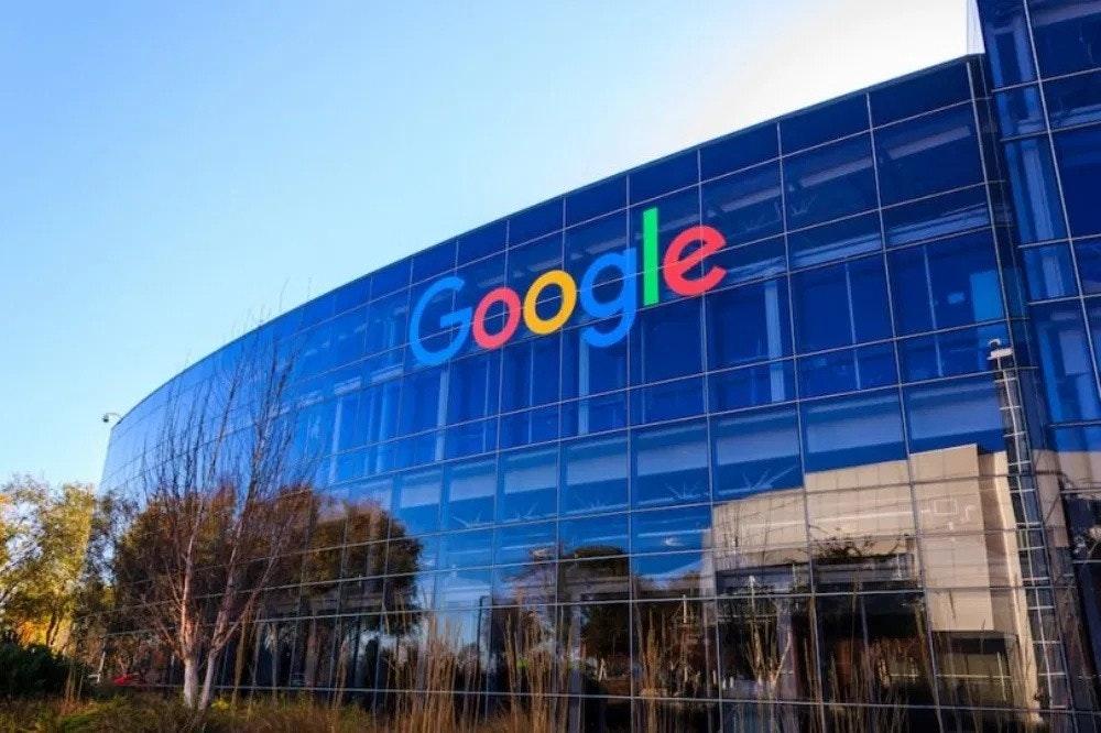 照片中提到了Google,跟谷歌有關,包含了谷歌現在建設、Alphabet Inc.、谷歌文檔、Google Workspace