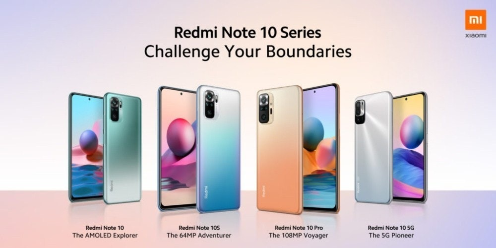 照片中提到了MI、Redmi Note 10 Series、xiaomi,跟小米有關,包含了手機、小米Redmi注意、手機、小米米CC9 Pro
