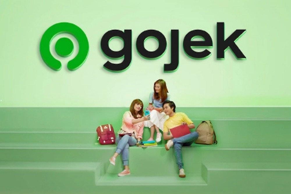 照片中提到了gojek,跟夸克有關,包含了玩、戈耶克、Google Play、Tokopedia、計算機應用