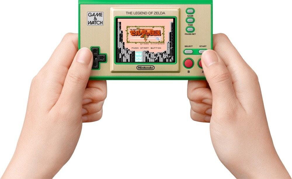 照片中提到了GAME、&、WATCH,包含了任天堂遊戲和觀看超級馬里奧、遊戲與手錶:超級馬里奧兄弟、超級馬里奧兄弟成立35週年、馬里奧兄弟(多屏)、馬里奧兄弟。