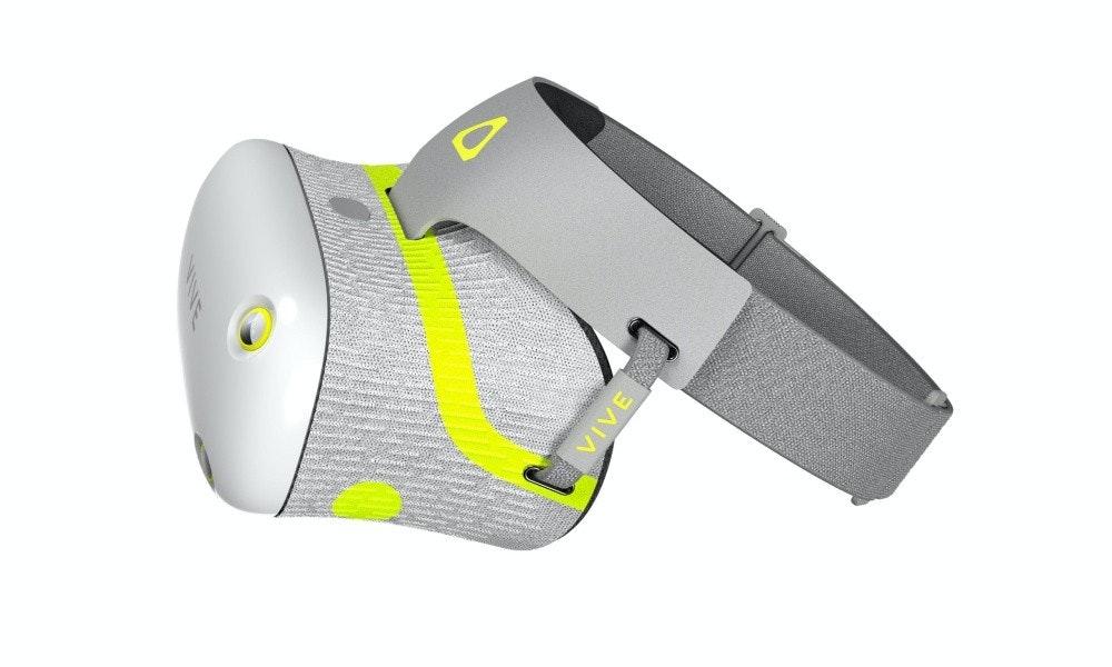 照片中跟亞瑟士有關,包含了htc Vive Air、虛擬現實耳機、虛擬現實、宏達電、宏達電