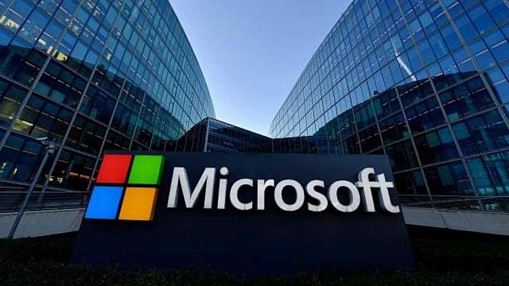 照片中提到了Microsoft,跟微軟公司有關,包含了微軟公司、雲計算、軟件、Nuance通訊