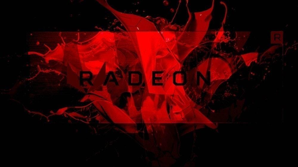 照片中提到了RADEON,包含了阿姆雷登、AMD Vega、AMD Radeon 500系列、AMD公司、Radeon RX 5000系列
