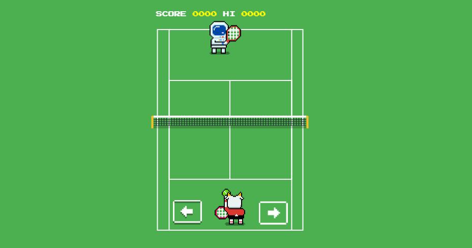 隱藏的Google溫布敦網球小遊戲 不殺人的安全網球對戰