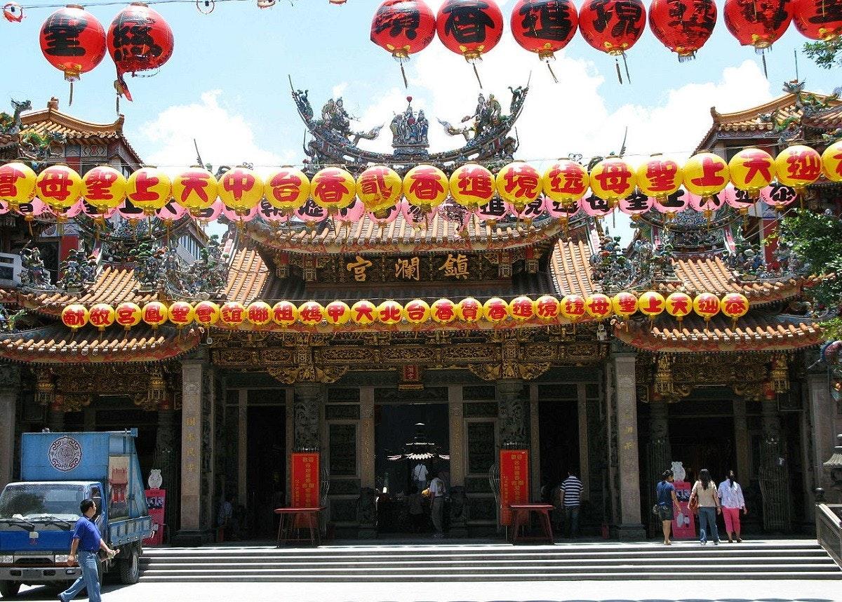 照片中提到了అంం、T日h、官瀾鎮青,包含了大甲珍珍寺、大甲珍蘭寺、萬和寺、北屯文昌宮、湄洲島