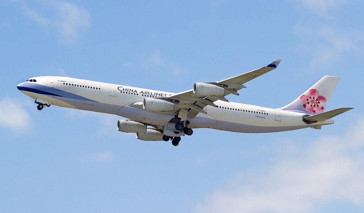 照片中提到了CHINA AIRHINES,跟中華航空、中華航空有關,包含了航空公司、新一代波音737、空客A330、航空公司、波音767