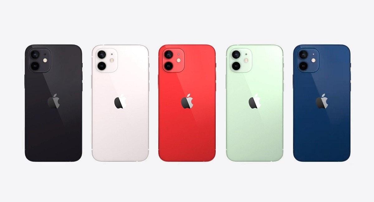 照片中包含了蘋果手機、iPhone 11、iPhone 12、蘋果手機、蘋果