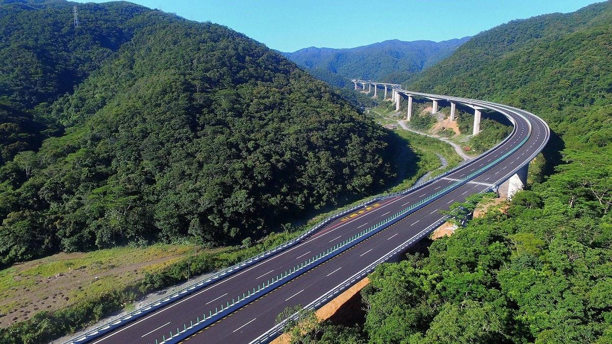 照片中包含了南迴改、省道9號、南匯路、南迴公路改善計畫、香蘭站