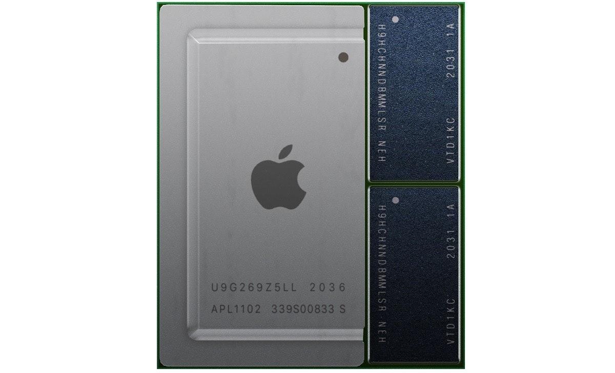 照片中提到了U9G269Z5LL 2036、APL1102 339S00833 S、H9HCHNNDB MM L SR NEH,跟蘋果公司。有關,包含了手機、中央處理器、電腦、蘋果、Tgspot.co.il