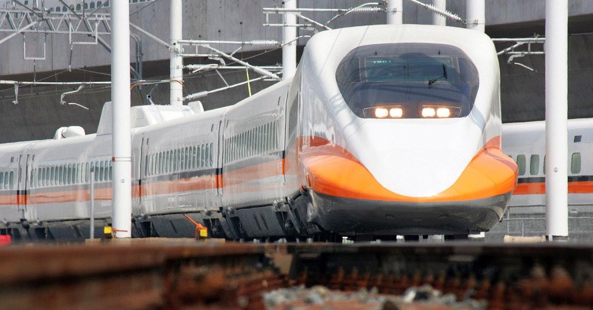 照片中包含了台灣鐵道、台灣高鐵、鐵路交通、培養、啟盟工業股份有限公司,智盟實業有限公司