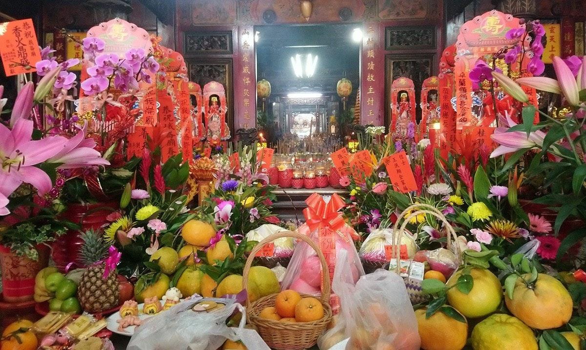 照片中提到了恭祝类,包含了市場、花藝設計、蔬菜、蔬菜水果商、花
