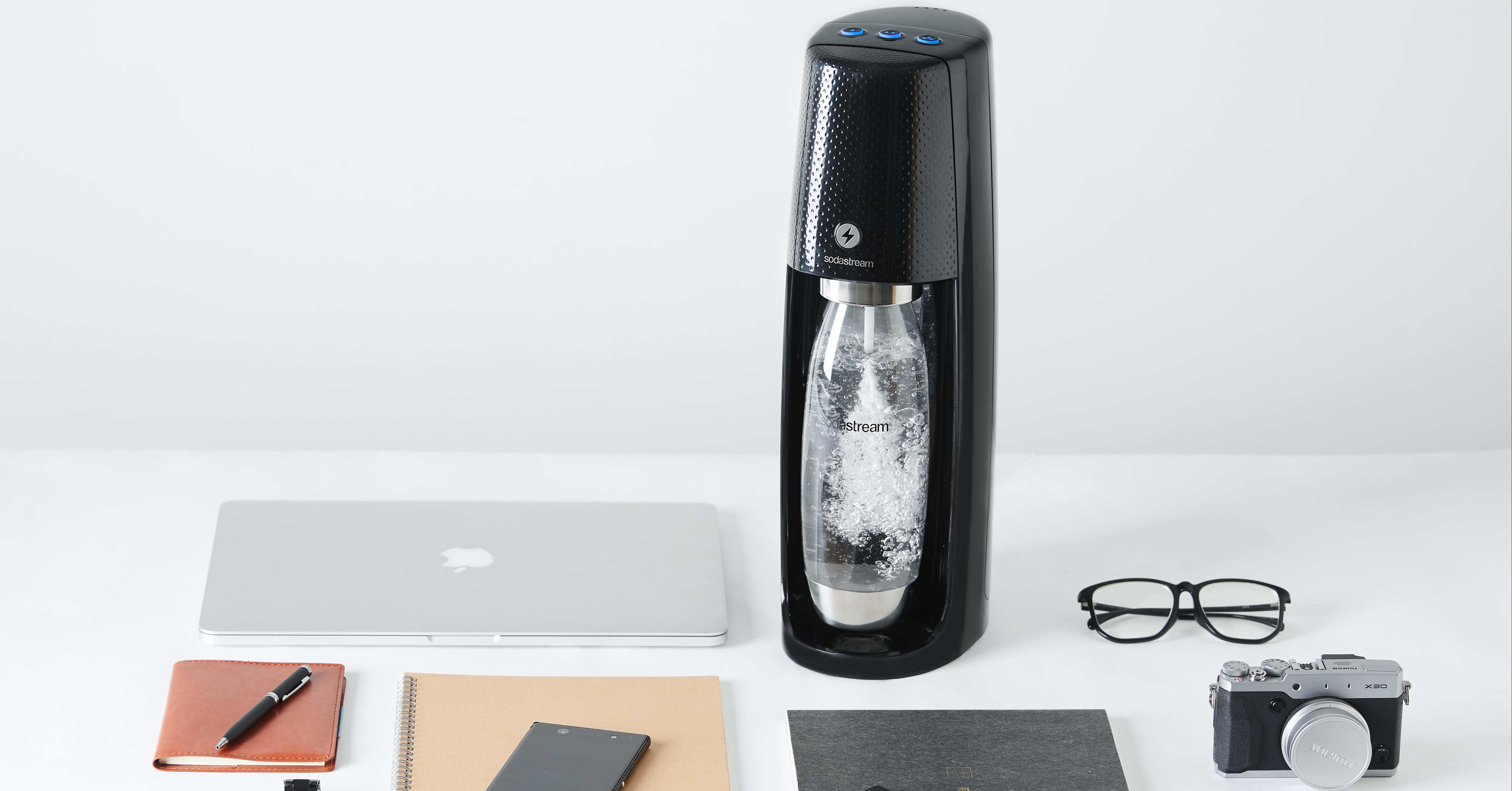 sodastream推出「Spirit One Touch氣泡水機」X「Fruit Drop果香風味飲」,製作自己的專屬氣泡水