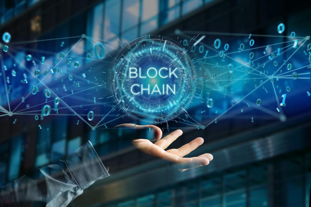 照片中提到了BLOCK、10、CHAIN,包含了區塊鏈技術、區塊鏈、比特幣、行業、金融技術