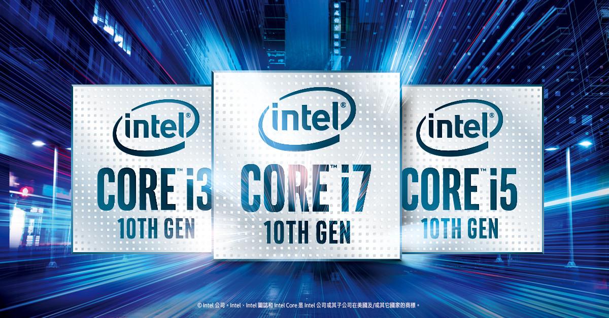 照片中提到了(intel)、(intel、(intel),跟英特爾、英特爾有關,包含了英特爾、英特爾酷睿i5、中央處理器、彗星湖