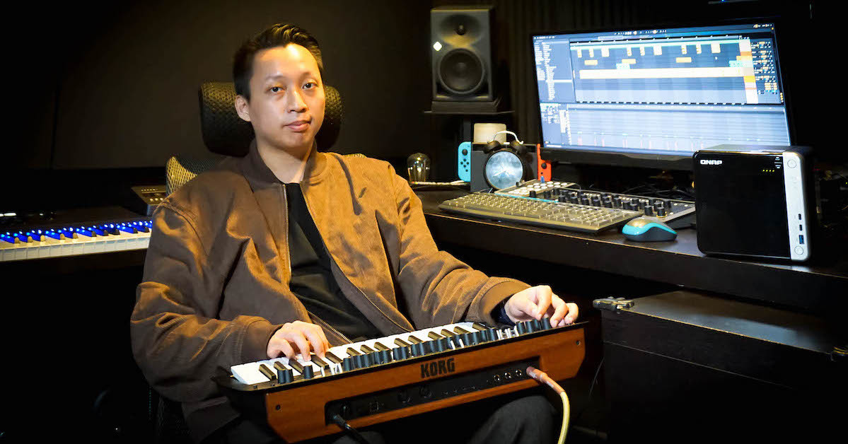 照片中提到了ONAP、KORG、ने,包含了會議音樂家、混合工程師、樂器配件、音效設計、音樂家