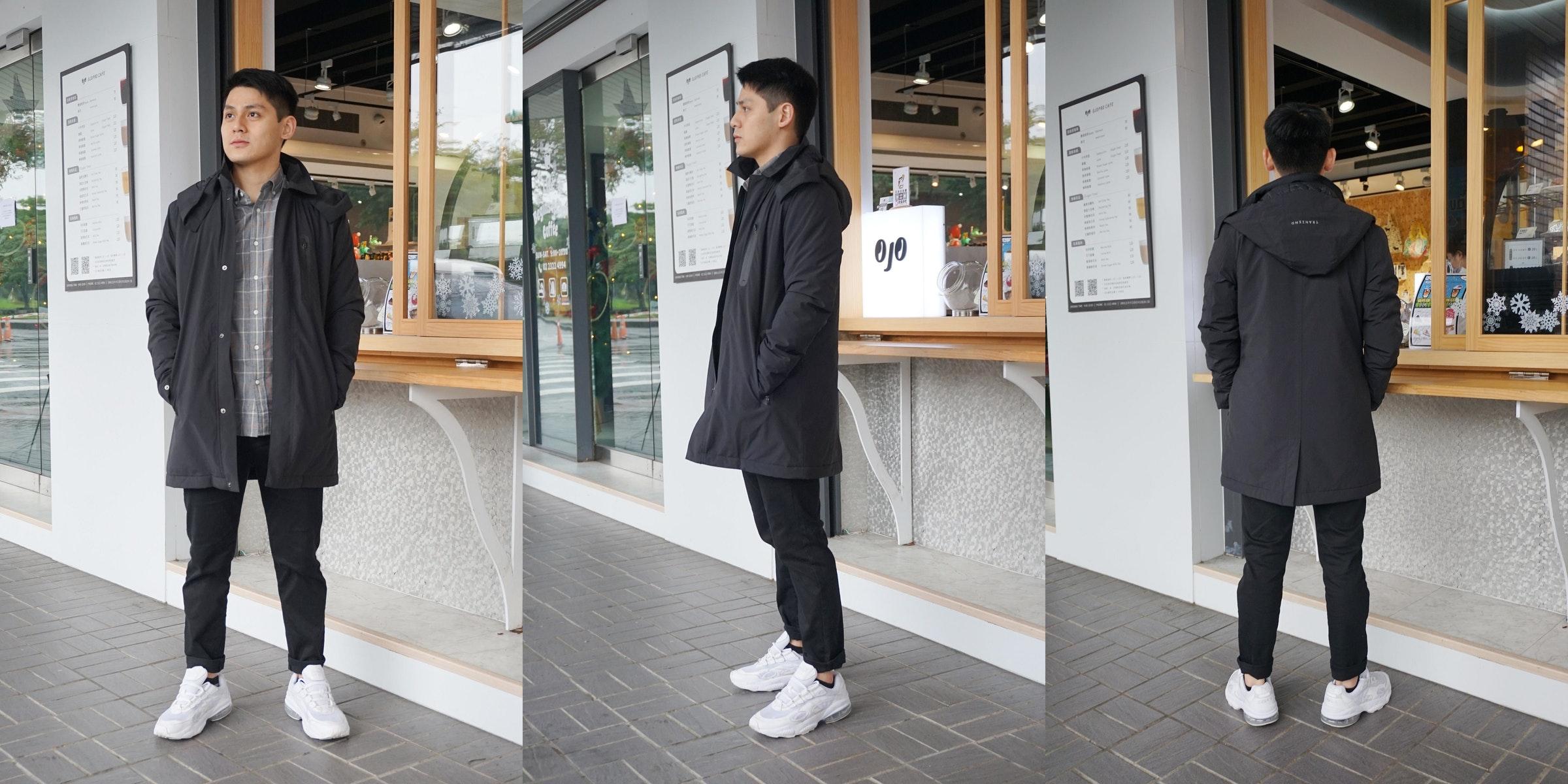 照片中提到了Oj0 OJOPRO CAFE、Sgar 10、L0,包含了牛仔褲、牛仔褲、塗層、時尚、夾克