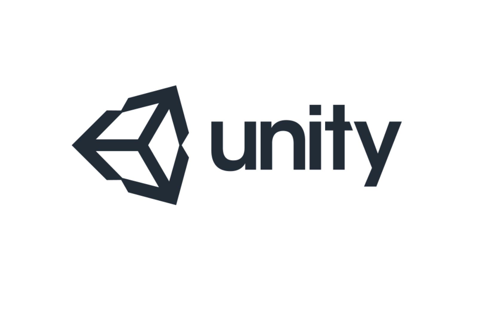 照片中提到了unity,跟Unity技術有關,包含了團結標誌、商標、統一、圖形