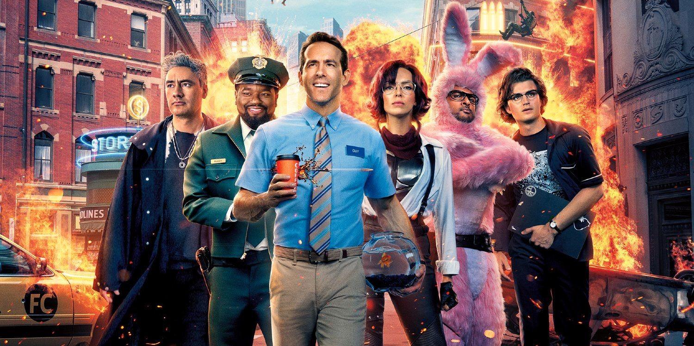 照片中提到了STOR、OLINES、FC,包含了自由人、瑞安·雷諾茲(Ryan Reynolds)、肖恩·利維、忍者、自由人