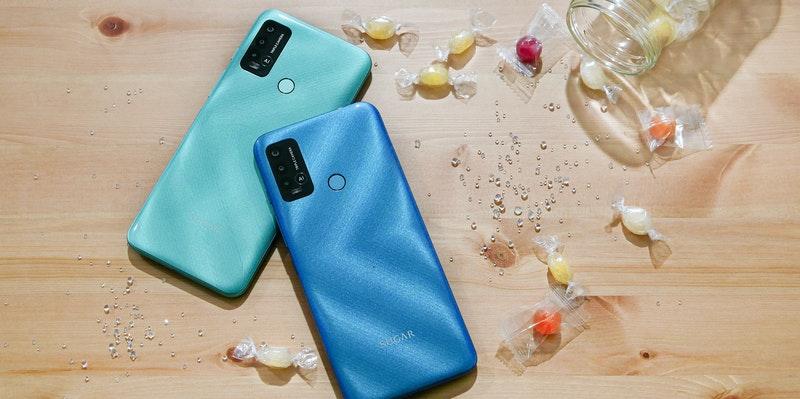 居家防疫最好伙伴: 6.82 吋大螢幕的 SUGAR C60 手機, 各種年齡層都適用