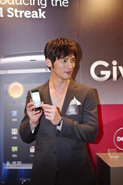 是DELL 新智慧型手機在台上市,會場有溫生蠔喔~~這篇文章的首圖