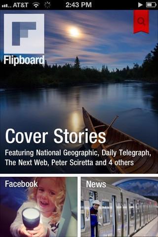 是Flipboard iPhone 版推出這篇文章的首圖