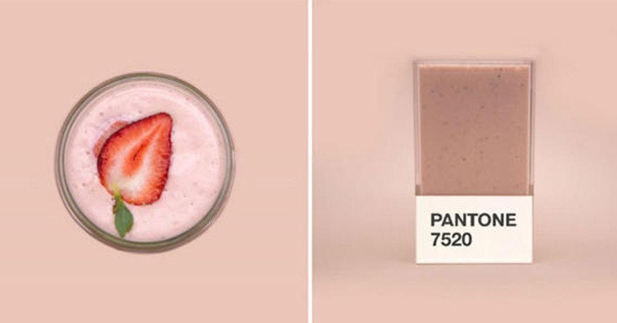 是自調一份 Pantone 水果奶昔,補滿你一天的色彩能量~這篇文章的首圖