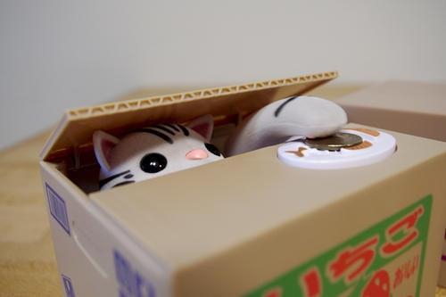 是日本貓咪儲金箱之猜猜誰是拷貝貓!這篇文章的首圖