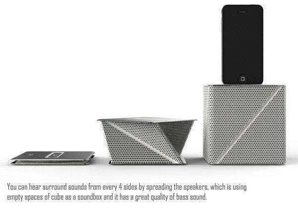 是【概念】折疊式立方體喇叭,有沒有覺得看起來很熟悉?這篇文章的首圖