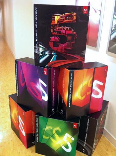 是Adobe 請大家免費體驗最新版 CS 5.5 喲!這篇文章的首圖