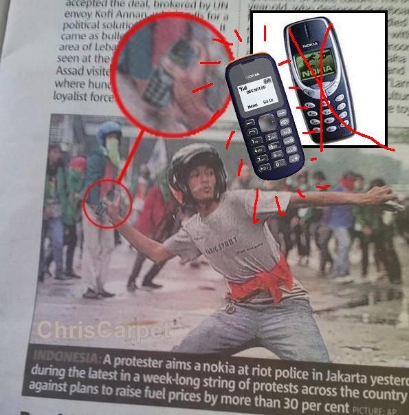 是神器3310後繼有人,號稱世上最便宜手機 Nokia 103 即將推出這篇文章的首圖