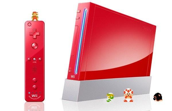 是祝賀超級瑪利歐25歲,任天堂推出大紅喜氣紅紅Wii這篇文章的首圖