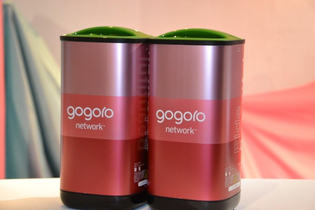 照片中提到了gogoro、gogoro、network,跟五郎郎、五郎郎有關,包含了瓶子、電動摩托車和踏板車、電動電池、產品設計