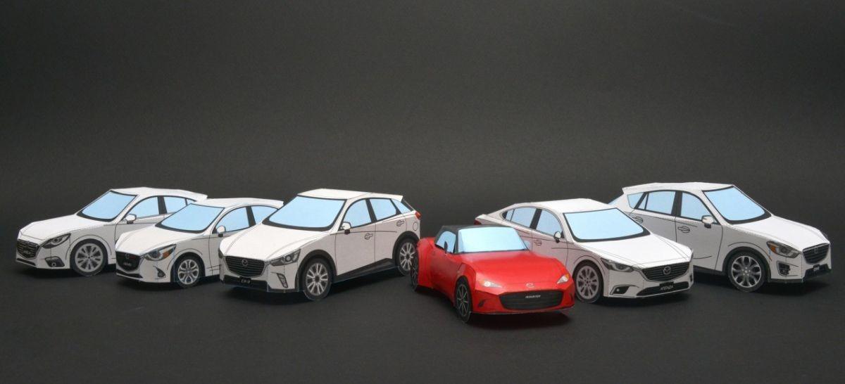 Mazda官方推出R360小跑車紙模型 高中低難度任你選