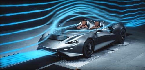 無前擋風玻璃也能玩空氣力學 McLaren Elva 超級跑車創造無形空氣牆