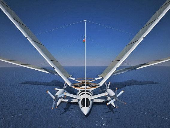 是未來派風帆飛行遊艇 by Yelken Octuri 酷!這篇文章的首圖