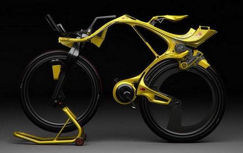 異形電動概念自行車 INgSoc Bicycle讓你每天上下班都輕鬆舒適