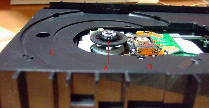 """是光碟機進退片不順的原因 與 DIY """"回春拉皮"""" 修復法 ( 2010.11 更新 )這篇文章的首圖"""