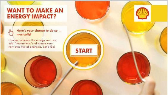 Shell(殼牌)另一片關於能源衝擊廣告,有趣的地方是以聲音來呈現