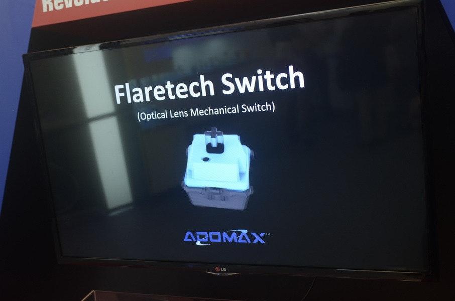 是Computex 2015: 無獨有偶,機械式鍵盤「軸」的變革不只一家,ADOMAX也以光感應的方式來觸發鍵盤訊號這篇文章的首圖