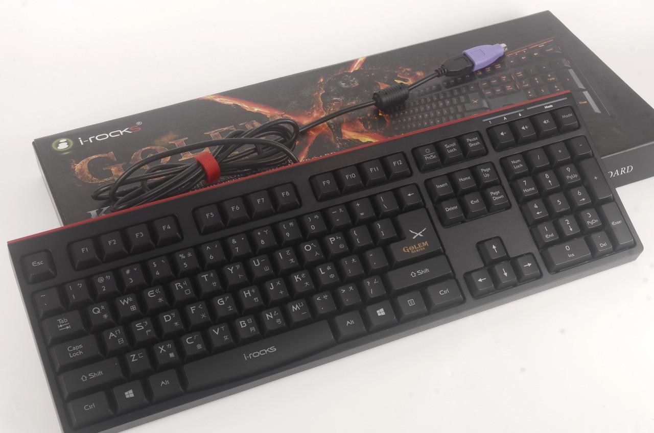 是逆潮流的高剪刀腳鍵盤i-rocks K-50E動手玩,完整的機能以及高按鍵行程的剪刀腳結構賣點,可以嘗試看看這篇文章的首圖