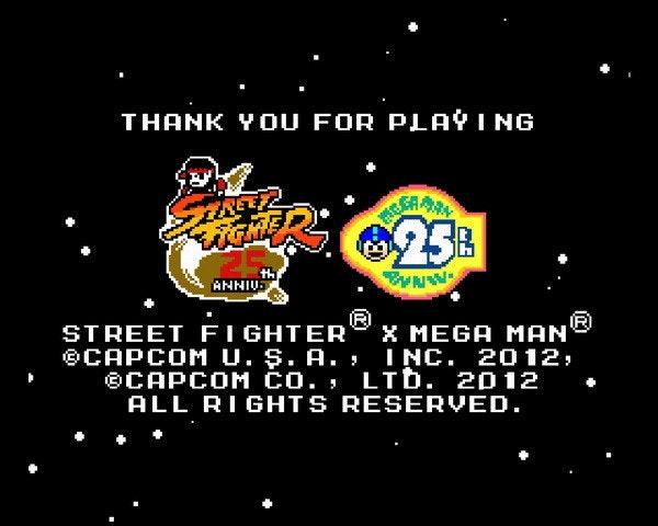 是Street Fighter X Mega Man,「快打旋風 X 洛克人」隱藏元素(含豪鬼打法攻略)補充這篇文章的首圖