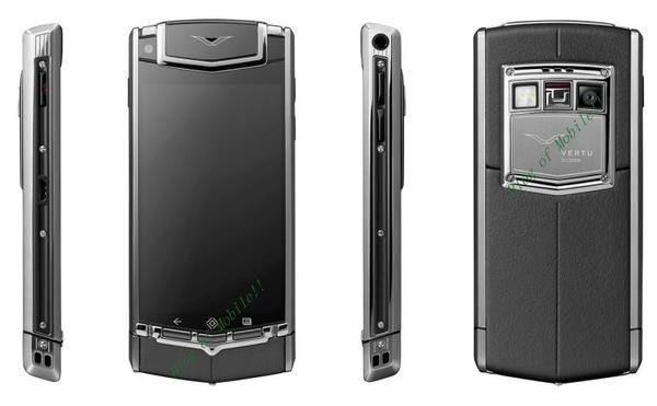 是手機貴族界Vertu將出Android手機,要價3000歐元,約台幣12萬這篇文章的首圖