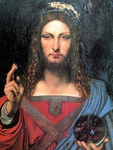 是藝術的價值是在於知名人物而非作品本身,同樣一幅畫,徒弟畫的2000元,達文西畫的55億多……這篇文章的首圖