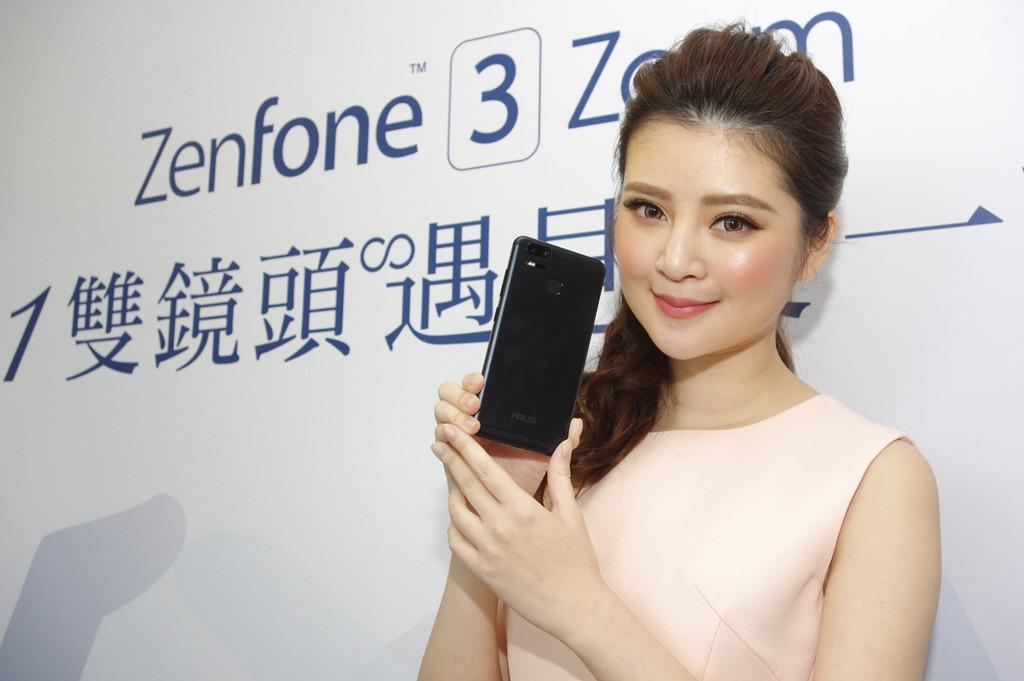 是華碩 ZenFone 3 Zoom 在台推出,主打 1+1 雙鏡頭與 5,000mAh 大電量這篇文章的首圖