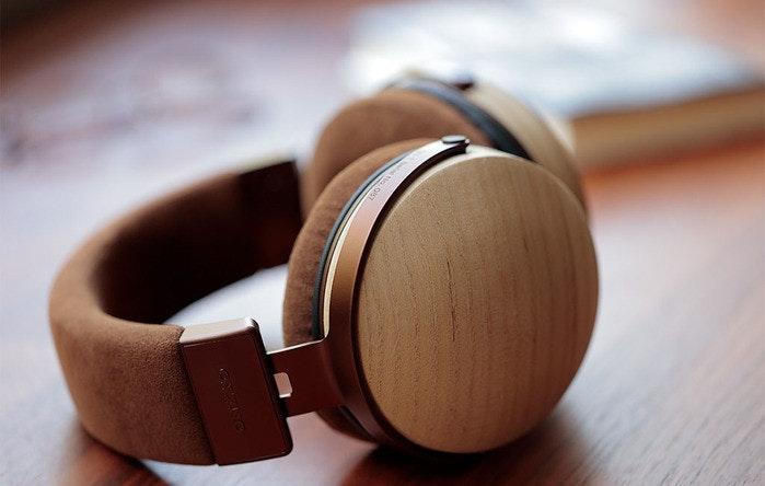Headphones, Product design, Close-up, Design, Product, headphones, headphones, audio equipment, audio, electronic device, wood