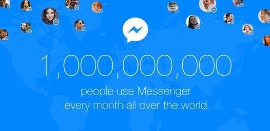 是歡慶用戶突破 10 億, Facebook Messenger 推出漂浮氣球 GIF這篇文章的首圖