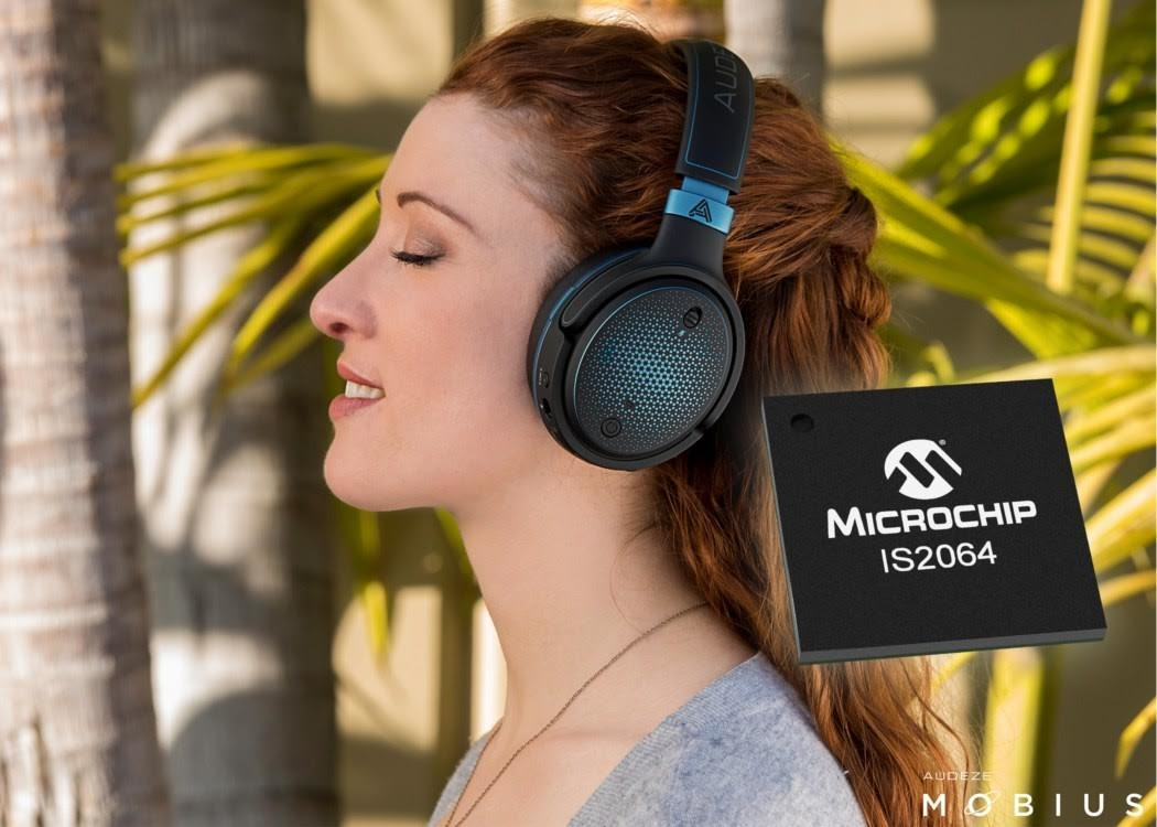Headphones, , , Microcontroller, Microchip Technology, , , NASDAQ:MCHP, , Audio, microchip technology - atsam4s8ca-cfu - microcontrollers - microcontrollers and processors, audio equipment, audio, electronic device, headphones, technology, hair coloring, ear, hearing, girl