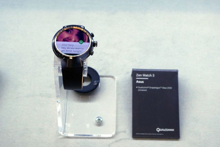 是IFA 2016 : Qualcomm Snapdragon 2100 裝置陸續登場, ZenWatch 3 與多款新 Android Wear 動眼看這篇文章的首圖