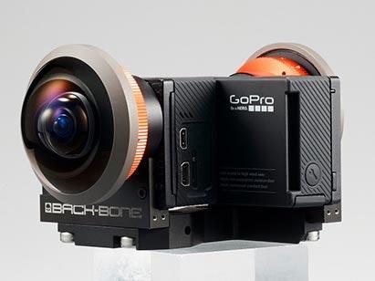是讓拍攝 VR 不再需要那麼多台 GoPro , Entaniya 推出基於兩台 GoPro 的 Back to Back 拍攝套裝這篇文章的首圖