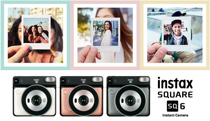 Photographic film, Polaroid SX-70, Instax, , , Fujifilm, Camera, Instant camera, 富士, Polaroid Corporation, fuji fujifilm instax square instant 10 film square sq10 instant cam..., product, photography, collage, electronics, product, technology, product design, photomontage, brand, media, Instax
